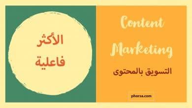 التسويق بالمحتوى