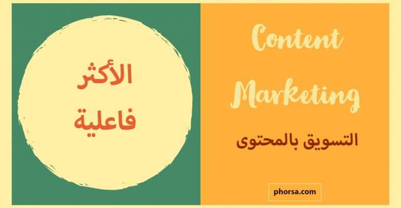 Photo of التسويق بالمحتوى: أفضل استراتيجيات التسويق الإلكتروني وأشدها فاعلية